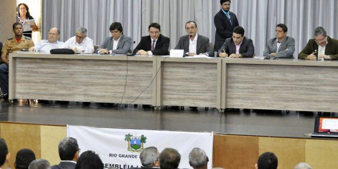 Reunião destinada a discutir o tema foi realizada hoje em Mossoró  Foto: Eduardo Maia