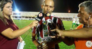 Fabinho Cambalhota volta a marcar em vitória tricolor. (Foto: Yham Victor/ACECB).