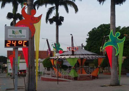 Martins aposta no frevo para esquentar o carnaval do frio e da folia