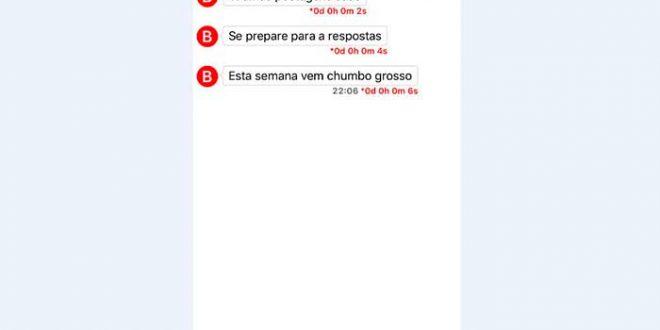 """Lairinho Rosado sofreu ameaça através do aplicativo """"Wickr"""""""